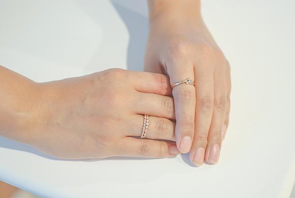 細身の指輪