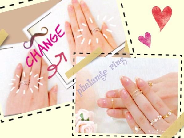 指輪のサイズが合わなくなった時の対処法 別の指につける